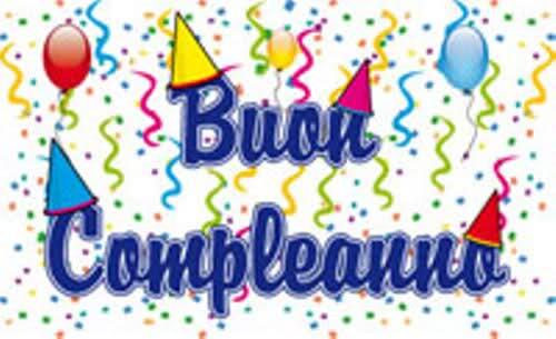 Поздравление с днем рождения итальянцу